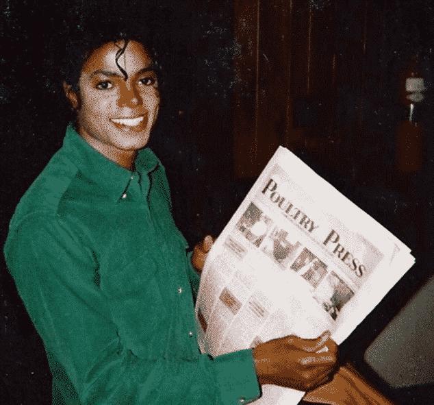 Майкъл Джексън с витилиго