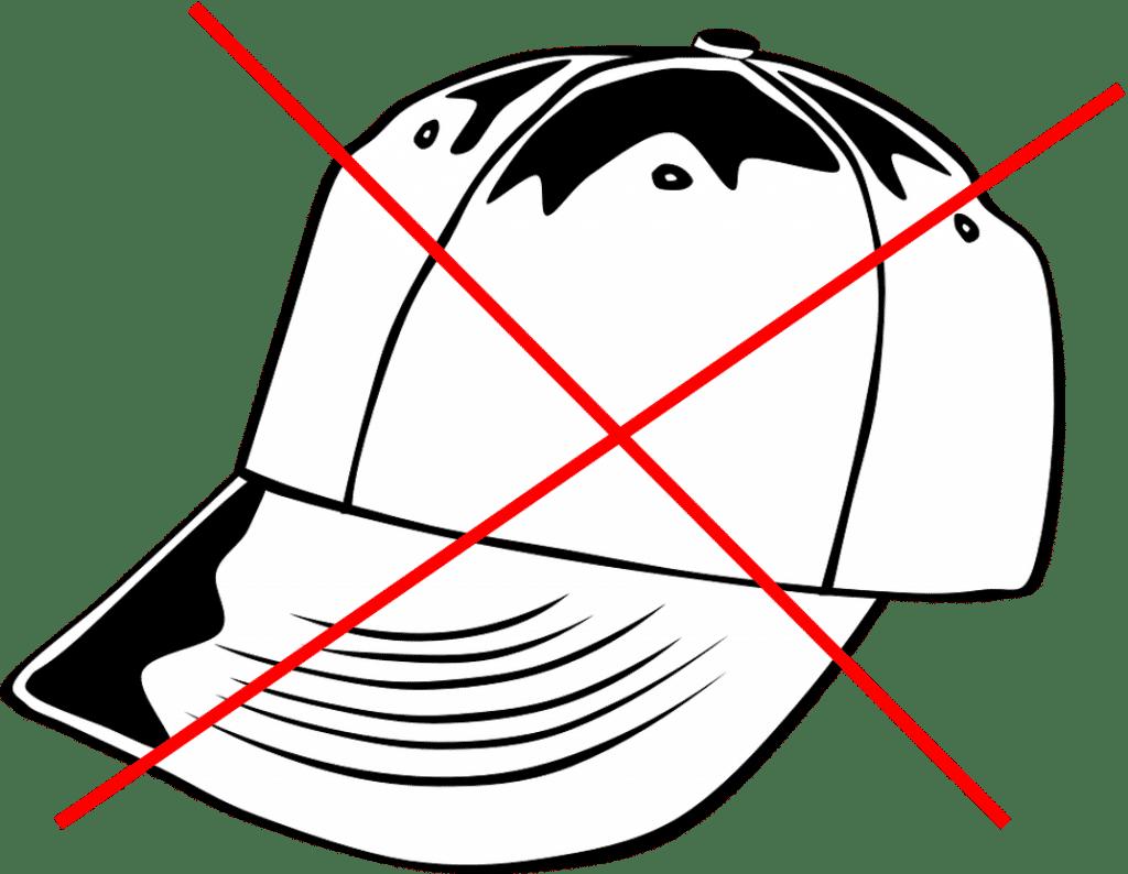 Беизболна шапка с шест шева